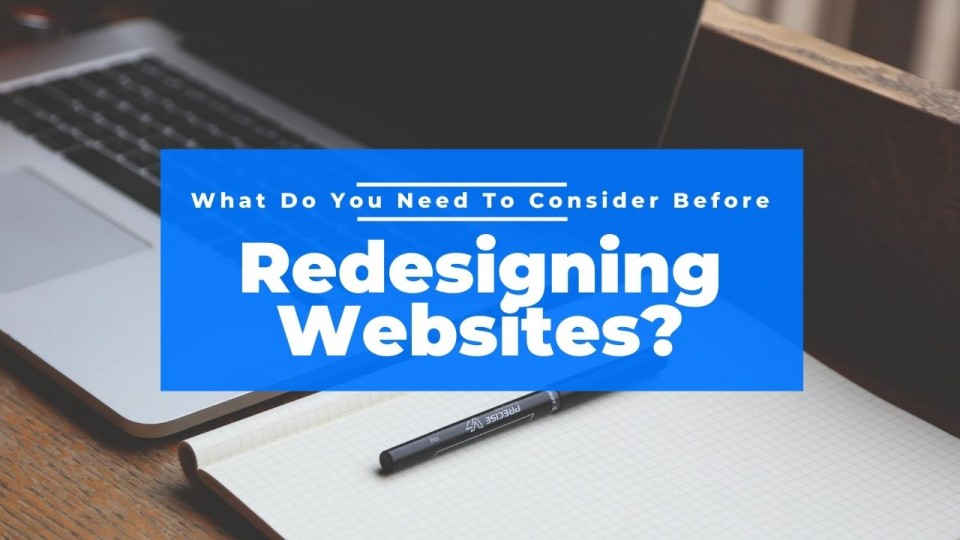 webiste redesign