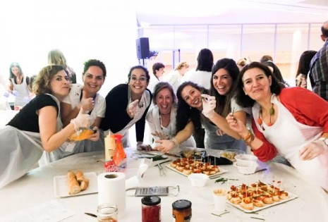 corporate cooking event