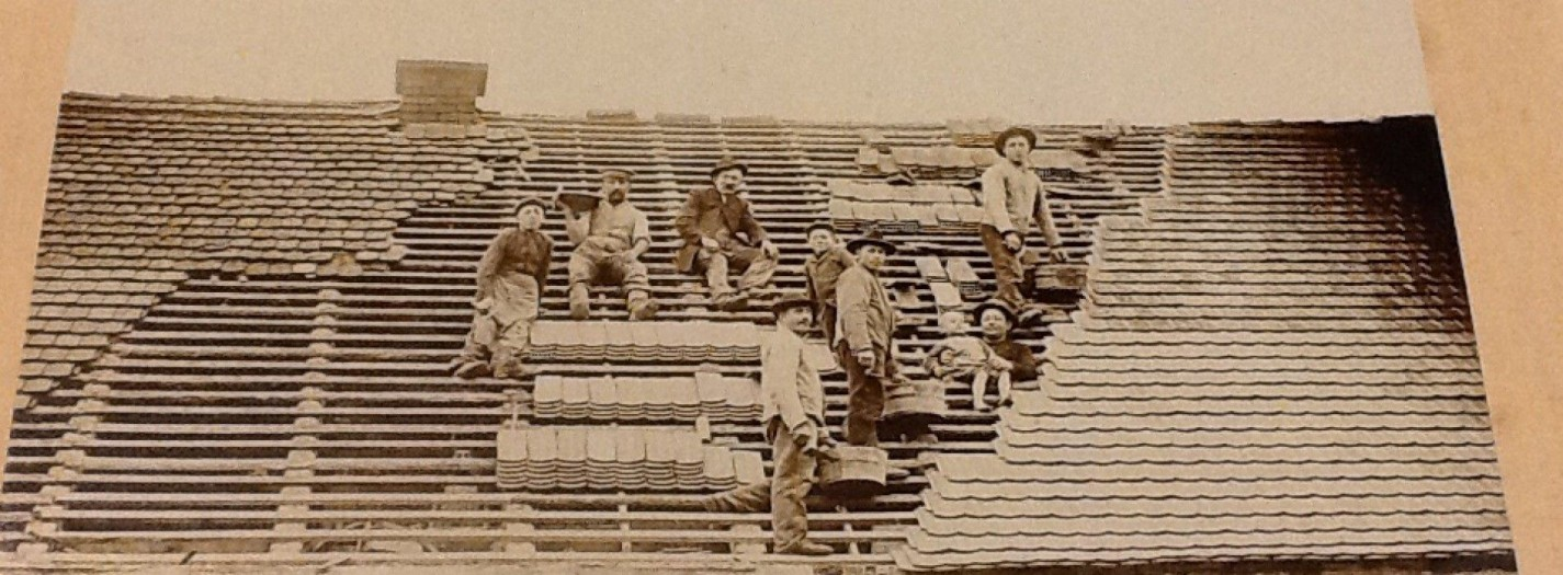 The History of Roofs and Roofers