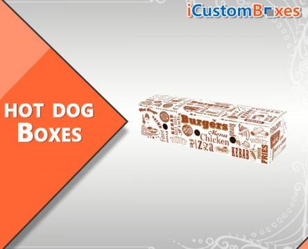 Custom printed hot dog boxes wholesale