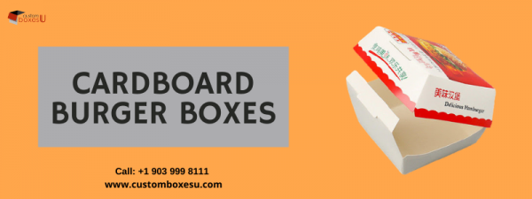 Cardboard Burger Boxes