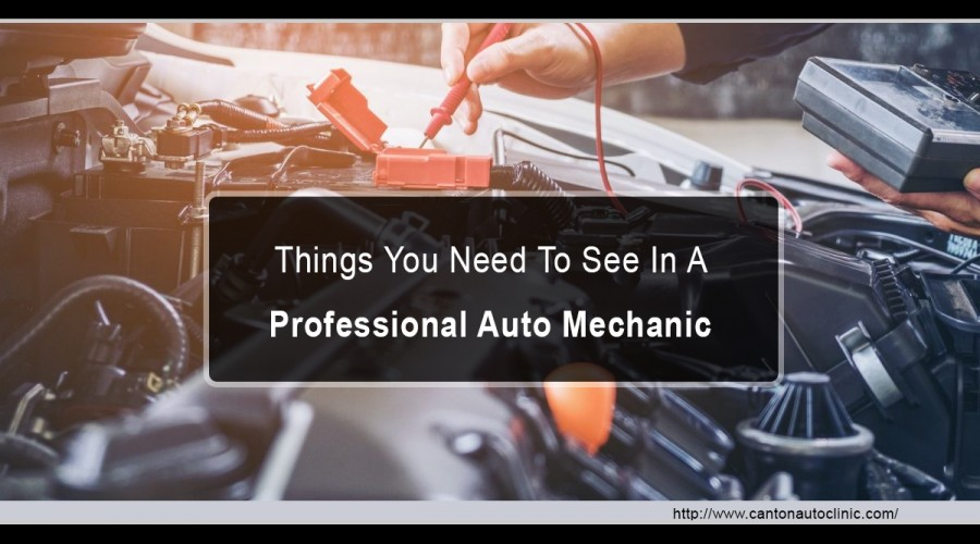 Things You Need To See In A Professional Auto Mechanic