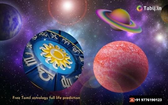 Free Tamil astrology full life prediction-tabij