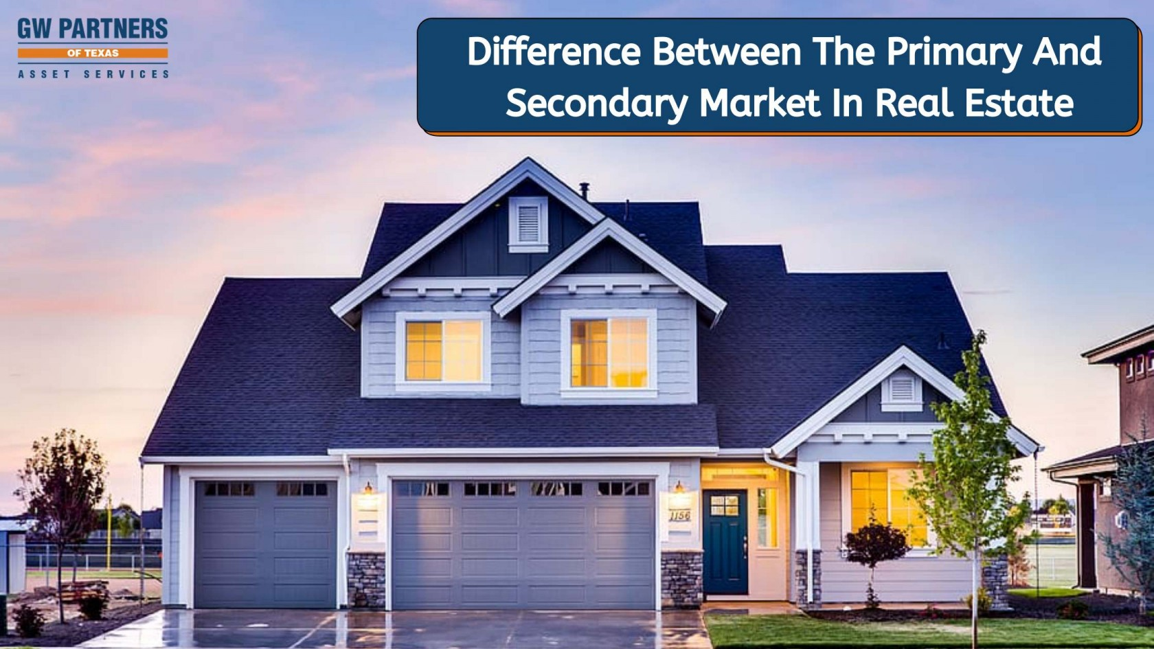 Difference Between The Primary And Secondary Market In Real Estate