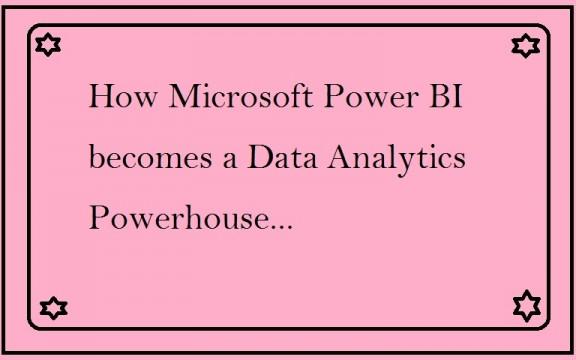 Data Analytics Powerhouse