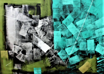Invoking New Dimensional Thinking through Abstract Painting