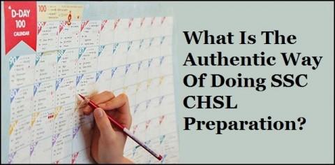 Doing SSC CHSL Preparation?