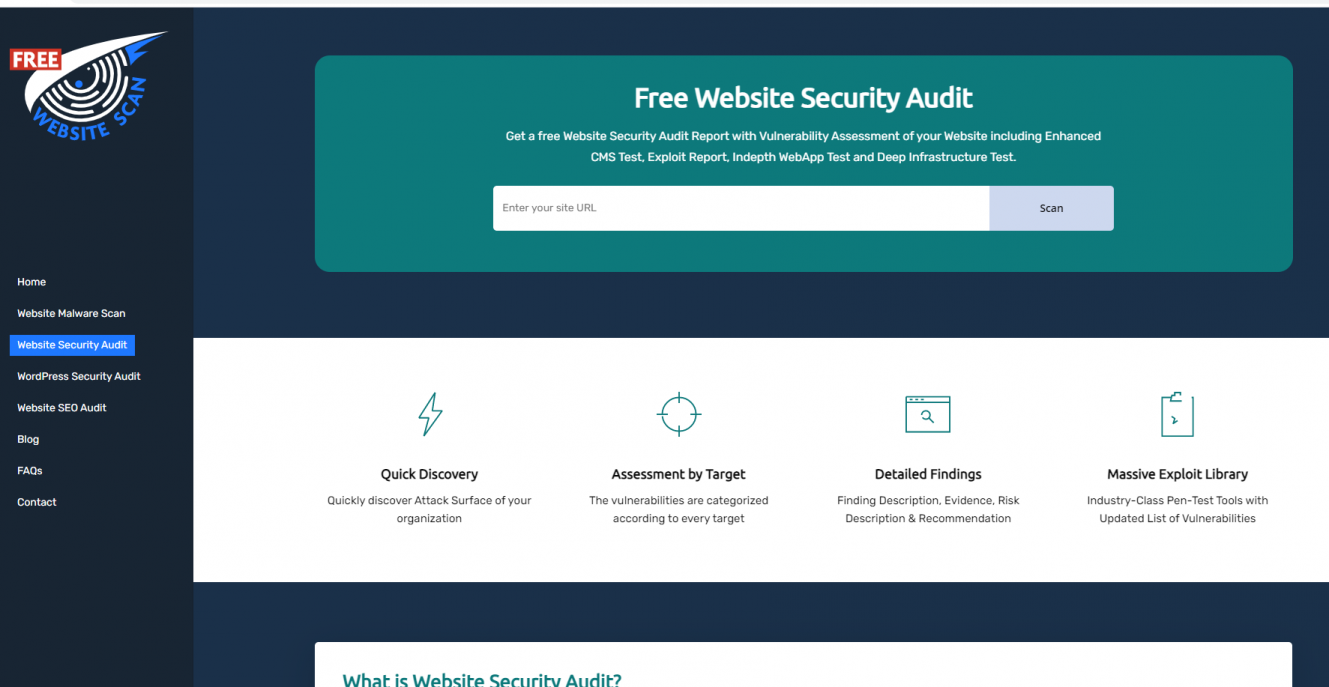 http://freewebsitescan.com/website-security-audit/