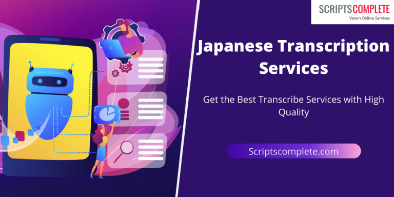 Japanese transcription services