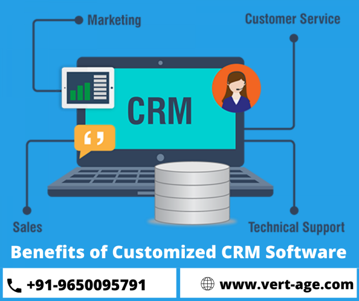 Benefits of building a customize CRM software.