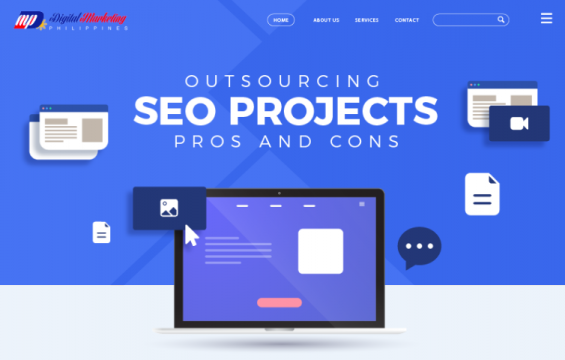 Outsourcing SEO Projects – Pros and Cons featured image