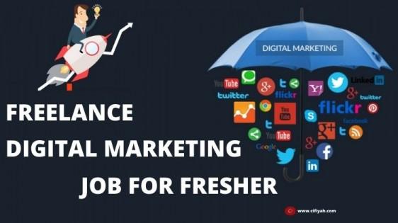 freelance digital marketing job