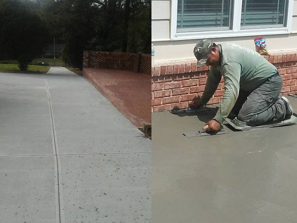 Concrete Driveway Repair Service