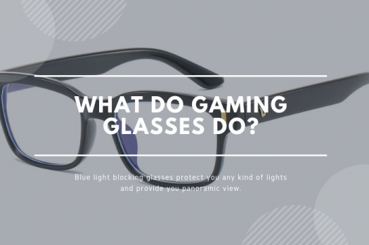 what do gaming glasses do