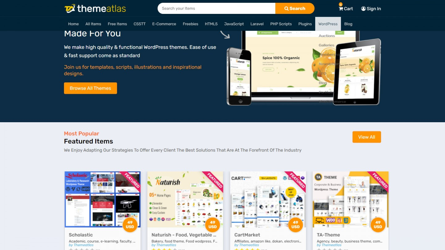 WooCommerce Themes Free Download For WordPress
