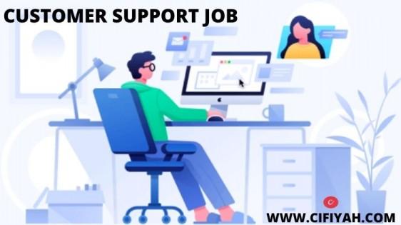 customer support job