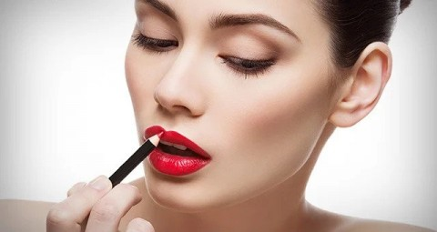 Why do women include eyeshadow and lipstick in the makeup?