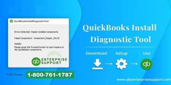 How to Use QuickBooks Install Diagnostic tool - Featured Image