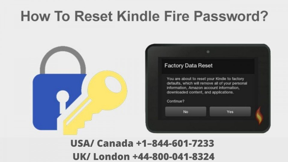 How To Reset Kindle Fire Password Without Losing Data?