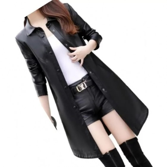 women leather dresses