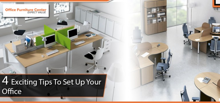 4 Exciting Tips to set up your Office