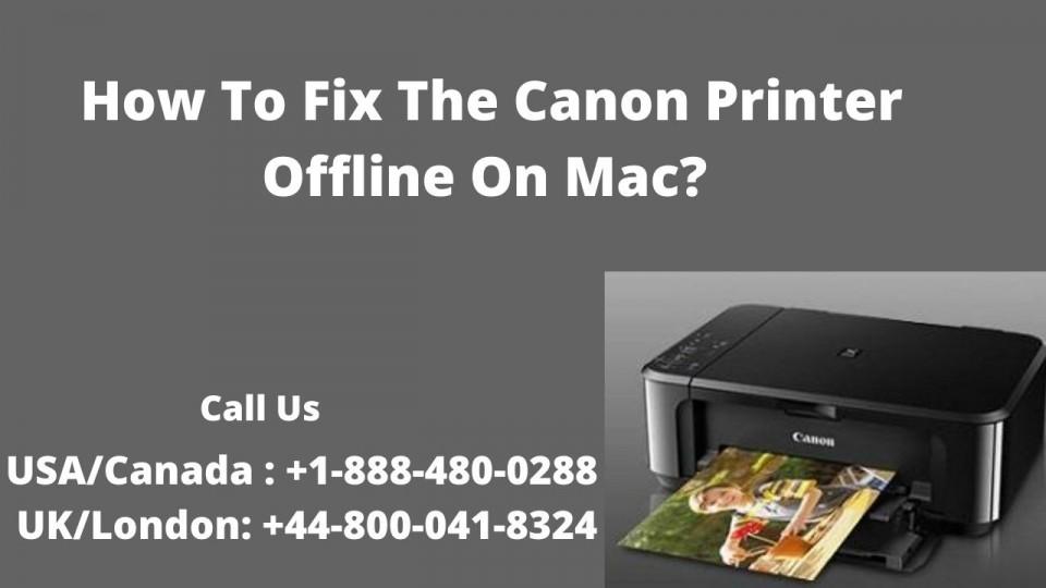 canon printer is offline mac