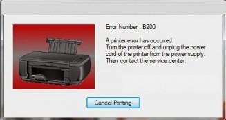 ERROR B203