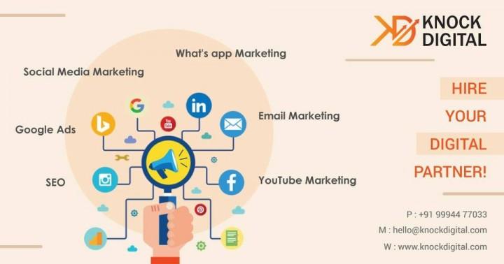 seo, Digital Marketing , Knock Digital ,