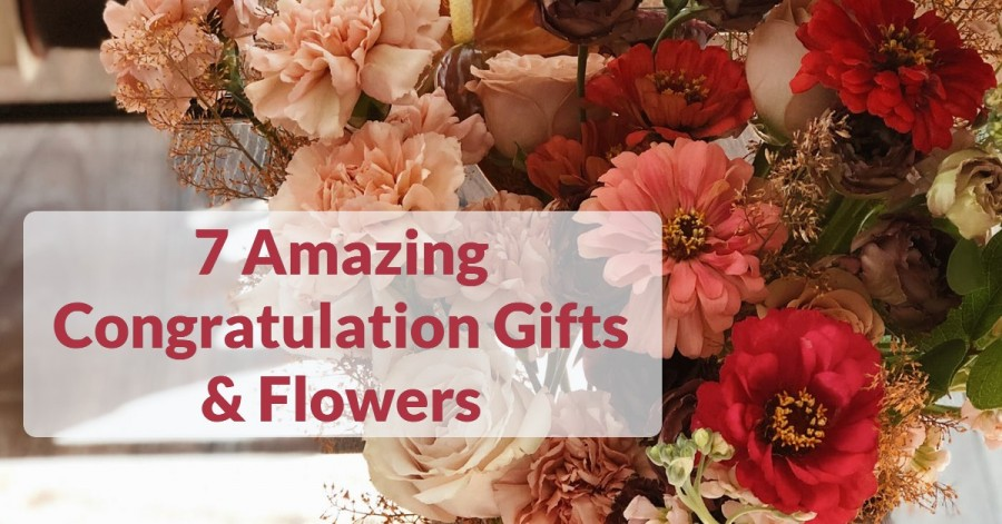 congratulations flowers- 7 Amazing Congratulation Gifts and Flowers