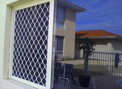 aluminium security screens