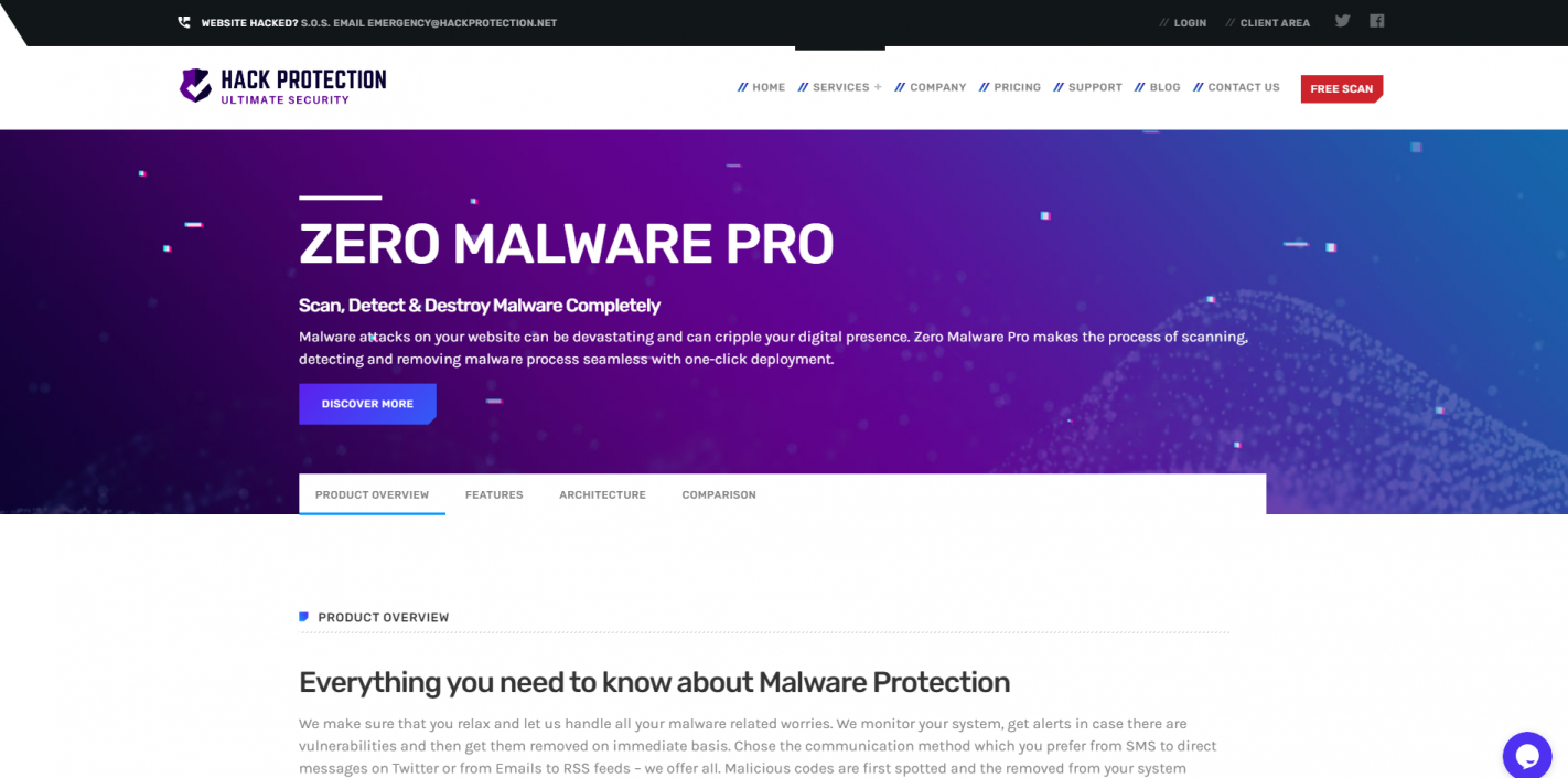 https://www.hackprotection.net/malware-removal/