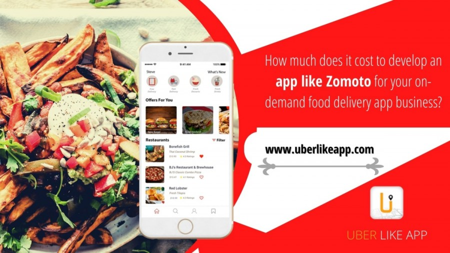 on demand food deliverv app
