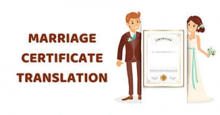 marriage certificate translation services
