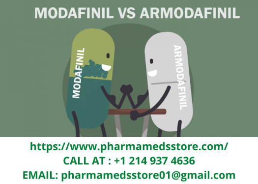 Armodafinil vs. modafinil