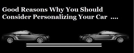 Personalizing Your Car