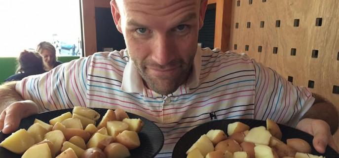 Andrew Taylor potato diet