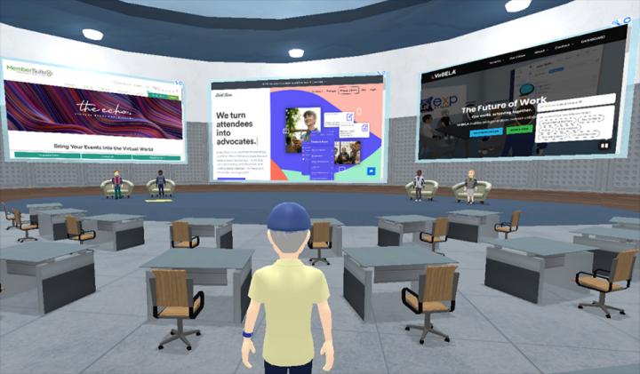 Virtual event app development