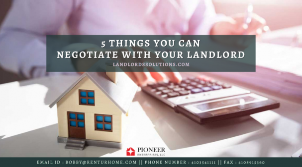 5 Things You Can Negotiate With Your Landlord