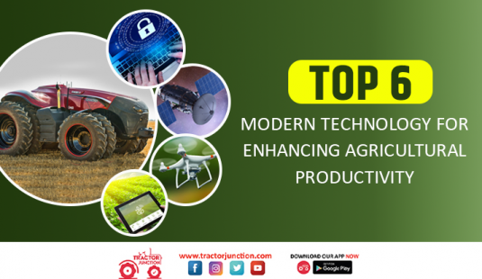 Top 6 Modern Technology For Enhancing Agricultural Productivity