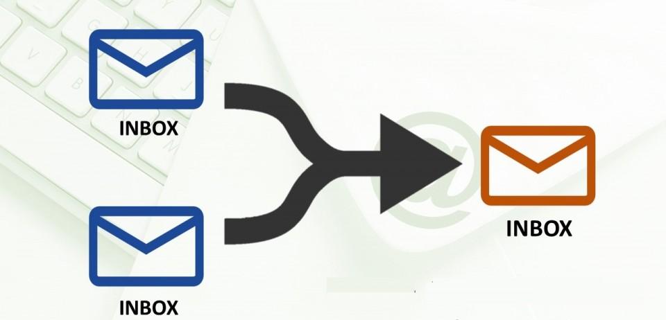Hợp nhất các thư mục Outlook