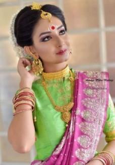 party makeup in Delhi, makeup artist in Delhi, special event makeup artist, traditional makeup