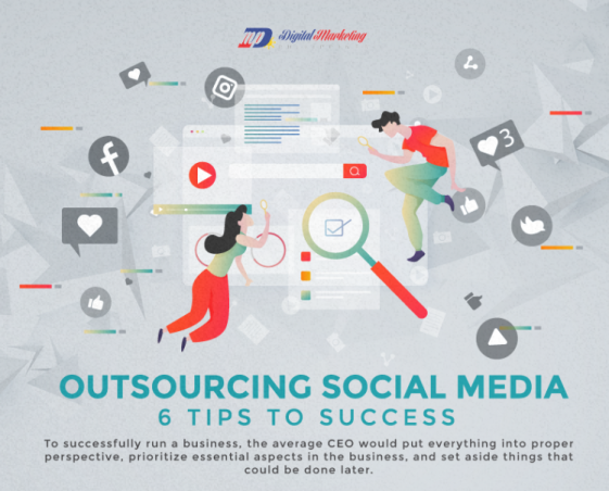 Outsourcing Social Media – 6 Tips to Success