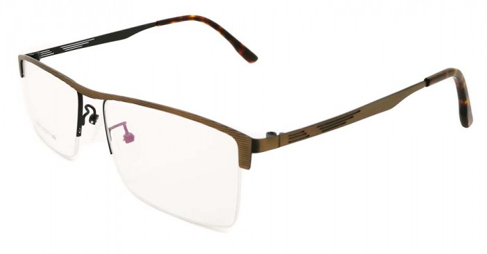 glasses with half frame