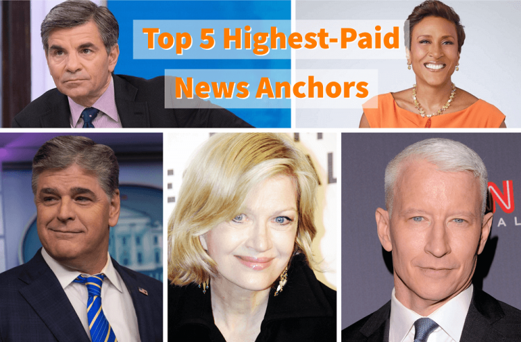 News Anchor Salary: Top 5 Highly Paid Anchors in the USA