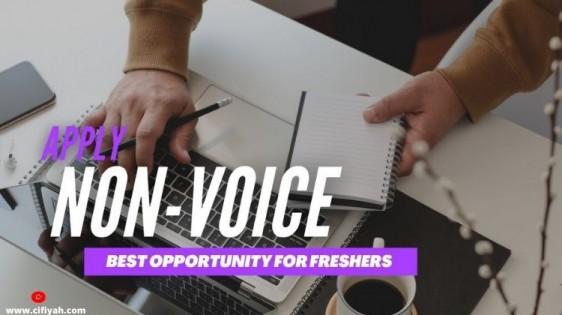 non voice job