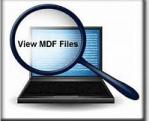 View corrupt MDF file