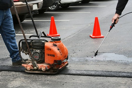 parking lot repair in denver