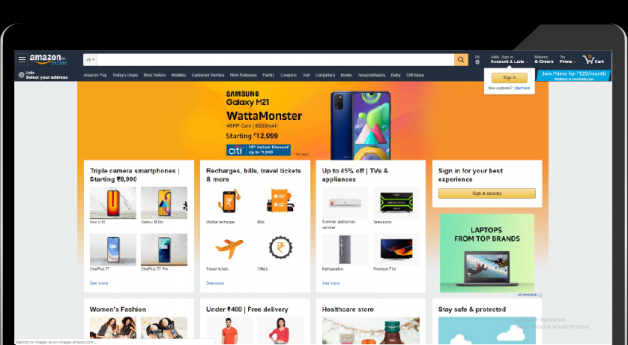 How to build an e-commerce App like Amazon