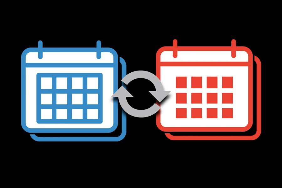 mesclar calendários no Outlook
