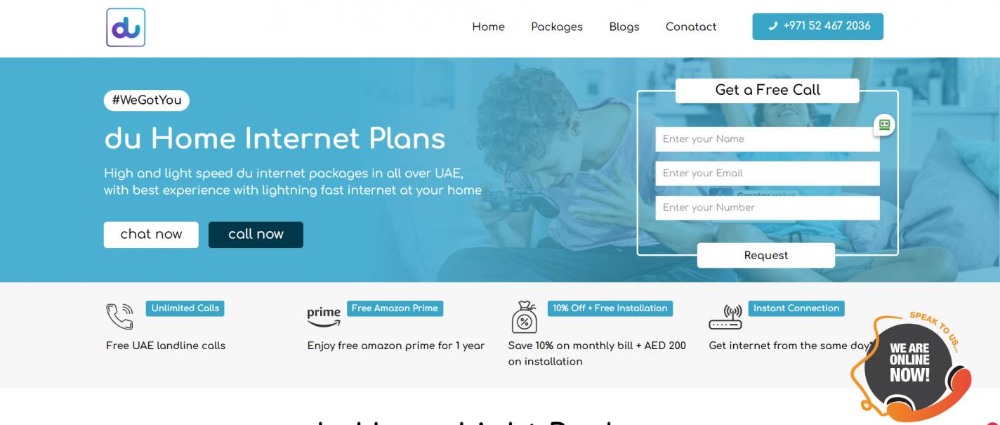 Du Home internet
